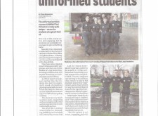 A great future ahead for uniformed services students